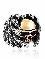 cheap -mrbigdeal mens gothic gold skull wings stainless steel celtic handmade jewelry ring sz 7-13 (10)