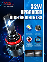 cheap -Car LED Headlamps H4 / H11 / 9005(HB3) Light Bulbs 6000 lm 32 W For universal All years 2pcs