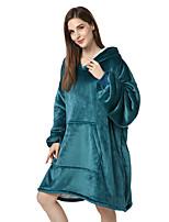 cheap -Adults' Kigurumi Pajamas Anime Onesie Pajamas Flannel Fabric Dark Green Cosplay For Men and Women Animal Sleepwear Cartoon Festival / Holiday Costumes