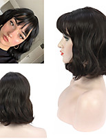cheap -Synthetic Wig Natural Wave Neat Bang Wig Short Synthetic Hair Women's Cosplay Party Fashion Wigs