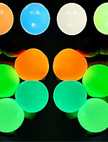 cheap -Sensory Fidget Toy Sticky Ceiling Balls Stress Reliever 4-8 pcs Ball Glow in the Dark Luminescent Silicone For Kid's Adults' Boys and Girls