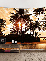 cheap -Wall Tapestry Art Decor Blanket Curtain Hanging Home Bedroom Living Room Decoration and Modern and Landscape and Beach Theme