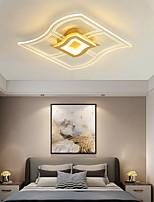 cheap -50 cm Single Design Flush Mount Lights Metal Acrylic LED Nordic Style 110-120V 220-240V