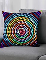 cheap -Double Side 1 Pc Geometri Cushion Cover  Print 45x45cm Linen for Sofa Bedroom