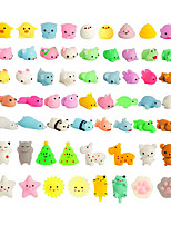 cheap -Squishy Squishies Squishy Toy Squeeze Toy / Sensory Toy 60 pcs Mini Animal Stress and Anxiety Relief Kawaii Mochi For Kid's Adults' Boys and Girls