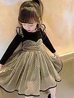 cheap -jinsen girls' dress 2021 spring new children's skirt baby polka dot tube top skirt xiaofei sleeve children's skirt