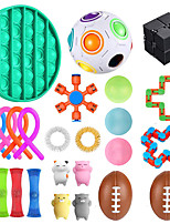 cheap -Squishy Toy Sensory Fidget Toy Stress Reliever 25 pcs Mini Creative Stress and Anxiety Relief Decompression Toys Slow Rising Plastic For Kid's Adults' Men and Women Boys and Girls Gift