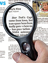 cheap -Lighted Magnifying Glass 3X 45x Magnifier Lens - Handheld Magnifying Glass with Light for Reading Small Prints, map, Coins and Jewelry - LED Magnifying Glass
