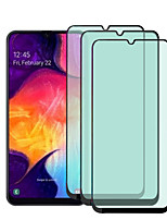 cheap -3PCS/5PCS Tempered Glass Protector For Samsung Galaxy A60 A50S Green Light Film Glass Screen Protector For Galaxy A50 A40 A30 A20 A10