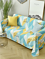 cheap -Sofa Cover Multi Color / Geometric Printed Polyester / Cotton Slipcovers
