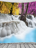 cheap -Majestic Waterfall Scenery Wall Tapestry Art Decor Blanket Curtain Hanging Home Bedroom Living Room Decoration