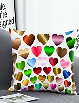 cheap -1 pcs Polyester Pillow Cover Pillow Cover & Insert Simple Classic Square Zipper Polyester Traditional Classic