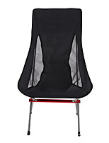 cheap -Camping Chair Multifunctional Portable Breathable Ultra Light (UL) Aluminum Alloy for 1 person Fishing Beach Camping Autumn / Fall Winter Red Blue