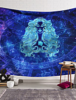 cheap -Wall Tapestry Art Decor Blanket Curtain Hanging Home Bedroom Living Room Color blue Polyester People