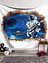 cheap -Wall Tapestry Art Decor Blanket Curtain Hanging Home Bedroom Living Room Decoration Polyester Astronaut Playing Piano