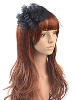 cheap -Elegant Retro Feathers Fascinators with Hollow-out / Flower 1 Piece Special Occasion / Party / Evening Headpiece