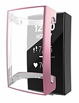 cheap -Case for Fitbit charge 2 Screen Protector Soft TPU Plated Protective Case Full Cover Rugged Bumper Lightweight  case