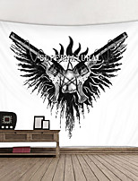 cheap -Wall Tapestry Art Decor Blanket Curtain Hanging Home Bedroom Living Room Decoration and Painting Style and Black and White