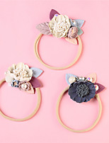 cheap -1pcs Infant Girls' Active / Sweet Daily Wear Sun Flower Floral Floral Style Nylon Hair Accessories White / Blue / Beige One-Size