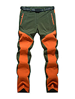 cheap -Women's Hiking Pants Trousers Patchwork Summer Outdoor Tailored Fit Waterproof Quick Dry Breathable Wear Resistance Bottoms Orange Green Hunting Fishing Climbing 27 29 31
