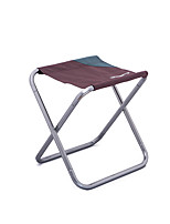 cheap -Camping Stool Portable Ultra Light (UL) Multifunctional Foldable Aluminum Alloy for 1 person Fishing Beach Camping Traveling Autumn / Fall Winter Dark Green Coffee / Breathable / Comfortable