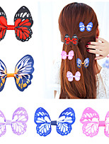 cheap -european and american children's accessories diy korean simulation bow hairpin set with bangs clip foreign trade spot manufacturer