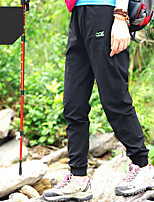 cheap -Women's Hiking Pants Trousers Solid Color Summer Outdoor Tailored Fit Waterproof Ultra Light (UL) Antistatic Quick Dry Spandex Pants / Trousers Forest Green Violet Black Yellow Army Green Hunting