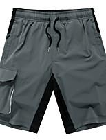 "cheap -Men's Hiking Shorts Summer Outdoor 12"" Regular Fit Breathable Soft Comfortable Wear Resistance Nylon Shorts Black Grey Khaki Hunting Fishing Climbing S M L XL XXL"