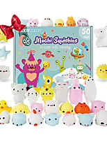 cheap -Squishy Squishies Squishy Toy Squeeze Toy / Sensory Toy 50 pcs Mini Animal Stress and Anxiety Relief Kawaii Mochi For Kid's Adults' Boys and Girls