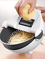 cheap -Vegetable Basket Vegetable Cutter 9 in 1 Multifunctional Vegetable Chopper Kitchen Veggie Fruit Shredder Grater Portable Slicer