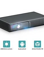 cheap -RD615 DLP Smart Projector 1080P Full HD Projector Mini Projecotr 3D Beamer Android 6.0 Wifi BT Home Theater