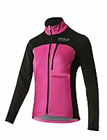 cheap -women's windproof fleece thermal outdoor sports jacket warm windbreaker cycling coat bicycle running outwear