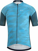 cheap -c3 men's short sleeve cycling jersey, s, blue / navy blue