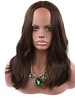 cheap -Synthetic Wig Curly Middle Part Wig Medium Length Brown / Burgundy Synthetic Hair Women's Party Fashion Comfy Brown