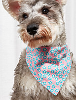cheap -Dog Cat Bandanas & Hats Cat Birthday Bandana Hat Fruit Cute Sweet Dailywear Casual / Daily Dog Clothes Puppy Clothes Dog Outfits Breathable Yellow Blue Pink Costume for Girl and Boy Dog Cotton XS S M