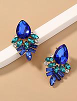 cheap -Women's Stud Earrings Earrings Briolette Luxury Baroque European Earrings Jewelry Blue For Gift Prom Date Birthday 1 Pair