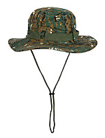 cheap -Men's Sun Hat Fishing Hat Hiking Hat Outdoor UV Sun Protection Windproof UPF50+ Quick Dry Spring Summer Hunting Ski / Snowboard Fishing Camouflage Color White Camouflage / Breathable