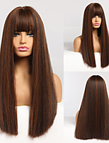 cheap -Synthetic Wigs Long Wavy Wigs for Women Heat Resistant Cosplay Wig Natural Hair