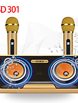 cheap -SD-301 Subwoofer Speaker Wireless Bluetooth Outdoor Portable Speaker For Mobile Phone