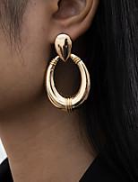 cheap -Women's Stud Earrings Drop Earrings Hoop Earrings Retro Drop Stylish Artistic Simple Vintage Trendy Earrings Jewelry Gold / Silver For Party Street Daily Holiday Festival 2pcs