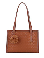 cheap -Women's Bags Top Handle Bag Hobo Bag Daily Date 2021 White Black Brown