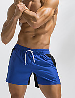 cheap -Men's Swim Shorts Swim Trunks Board Shorts Breathable Quick Dry Drawstring - Swimming Surfing Water Sports Patchwork Summer