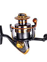 cheap -Fishing Reel Spinning Reel 5.2:1 Gear Ratio 10 Ball Bearings Easy Install for Sea Fishing / Fly Fishing / Freshwater Fishing / Trolling & Boat Fishing / Hand Orientation Exchangable