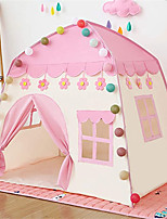 cheap -Play Tent & Tunnel Playhouse Teepee Castle Princess Flower Foldable Convenient Polyester Gift Indoor Outdoor Party Favor Festival Fall Spring Summer 3 years+ Boys and Girls Pop Up Indoor/Outdoor