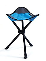cheap -Camping Stool Tri-Leg Stool Multifunctional Portable Breathable Ultra Light (UL) Oxford for 1 person Fishing Beach Camping Traveling Autumn / Fall Winter Blue