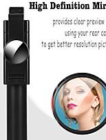 cheap -K10 Bluetooth Selfie Stick Extendable Tiktok Youtube Selfie Stick with Mirror Wireless Control Selfie Stick For Samsung iPhone Xiaomi Huawei Smart Devices