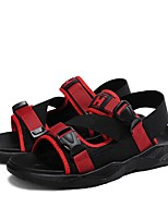 cheap -Men's Sandals Sporty Casual Athletic Outdoor Water Shoes Walking Shoes Synthetics Tissage Volant Breathable Non-slipping Wear Proof Booties / Ankle Boots White Black Yellow Summer