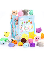 cheap -Squishy Squishies Squishy Toy Squeeze Toy / Sensory Toy 24 pcs Mini Animal Stress and Anxiety Relief Kawaii Mochi For Kid's Adults' Boys and Girls