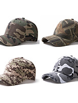 cheap -Men's Baseball Cap Sun Hat Fishing Hat Outdoor UV Sun Protection Windproof UPF50+ Quick Dry Spring Summer Camouflage Color Jungle camouflage Camouflage / Breathable