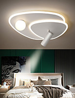 cheap -40/50 cm LED Ceiling Light With Spot Light Dimmable Light Fixture Geometric Shapes Flush Mount Lights Metal Artistic Style Stylish Painted Finishes Artistic LED 110-120V 220-240V